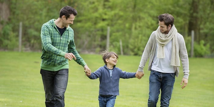 of parenting Effects gay