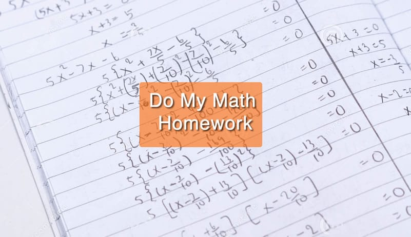 Do my math homework websites